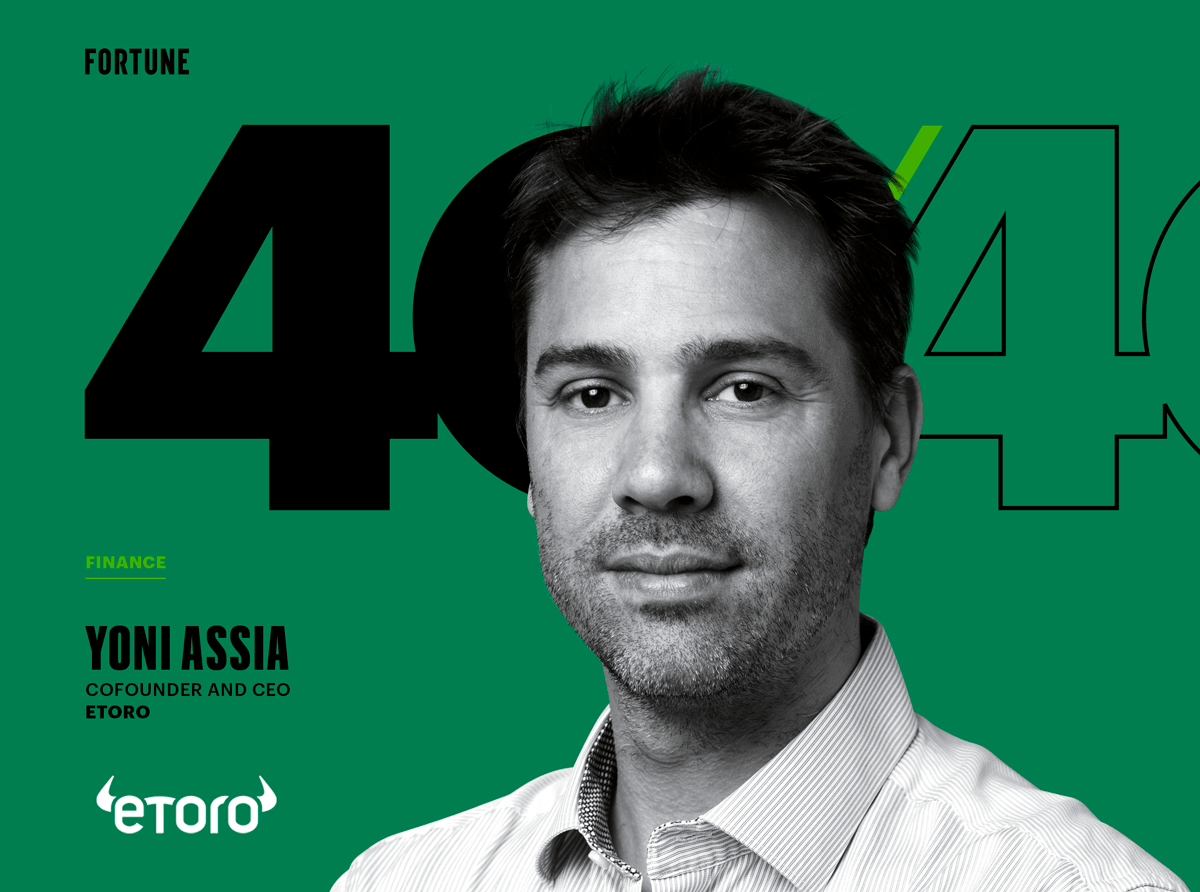 eToro CEO Yoni Assia