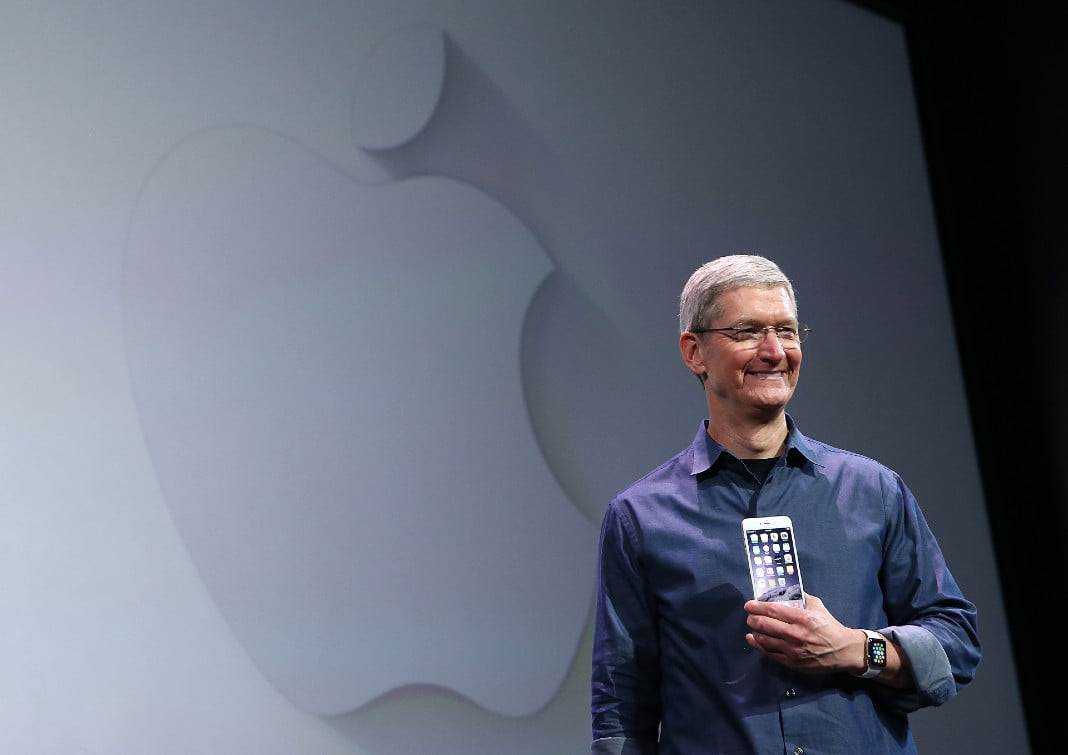 Tim Cook, chief executive officer de Apple Inc.